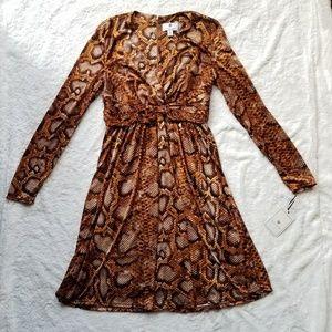 Altuzarra for Target Snakeskin Print Dress sz 10